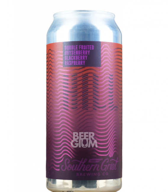 Southern Grist Double Fruited Boysenberry Blackberry Raspberry Hill CANS 47cl
