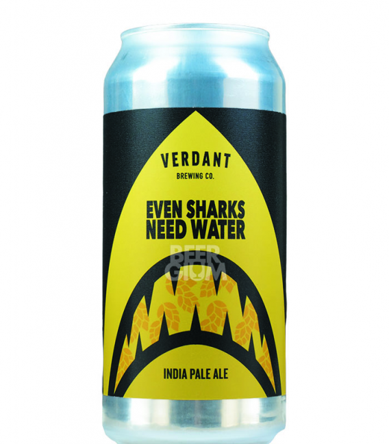 Verdant Even Sharks Need Water CANS 44cl