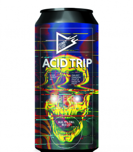 Funky Fluid Acid Trip Galaxy, Dragon Fruit & Passion Fruit CANS 50cl