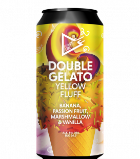 Funky Fluid Double Gelato: Yellow Fluff CANS 50cl