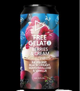 Funky Fluid Free Gelato Berries & Cream CANS 50cl