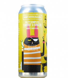 Hop Hooligans Salty Sourpuss Carrot & Ginger CANS 50cl