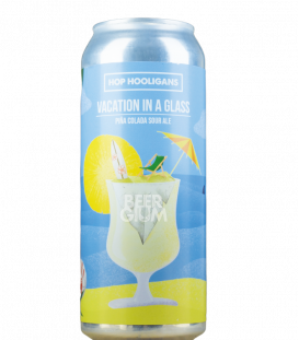 Hop Hooligans Vacation in a Glass CANS 50cl
