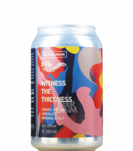 Hop Hooligans / Low Frequency Witness the Thiccness CANS 33cl
