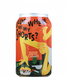 DOK Brewing Dude Where Are My Shorts CANS 33cl
