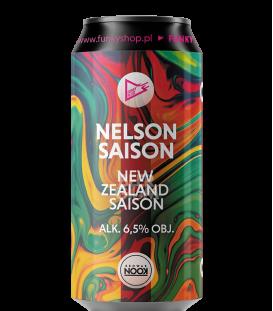EUROBOX Belgium - Funky Fluid Nelson Saison CANS 50cl