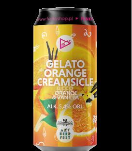EUROBOX Portugal - Funky Fluid/Artbeerfest Gelato: Orange Creamsicle CANS 50cl
