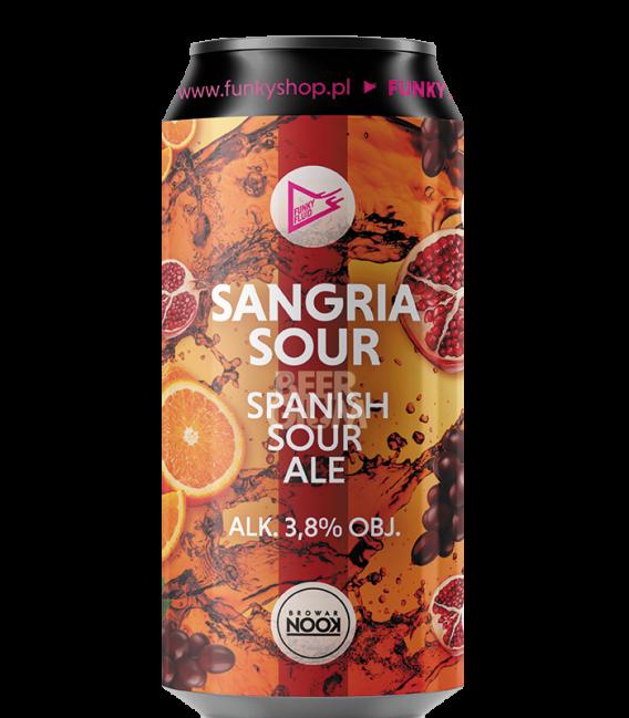 EUROBOX Spain - Funky Fluid Sangria Sour CANS 50cl