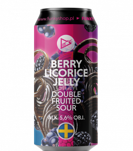 EUROBOX Sweden - Funky Fluid Berry Licorice Jelly Sour CANS 50cl