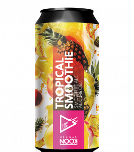 Funky Fluid Tropical Smoothie Pineapple, Mango & Peach CANS 50cl