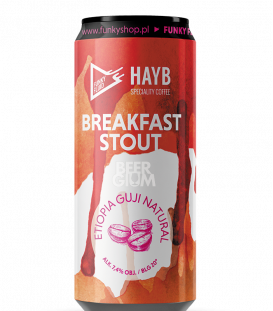 Funky Fluid Breakfast Stout: Ethiopia Guji Natural CANS 50cl