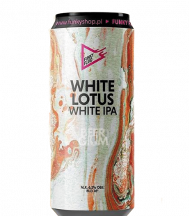 Funky Fluid White Lotus CANS 50cl