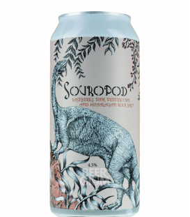 Staggeringly Good Souropod Raspberries, Himalayan Salt & Pink Peppercorn CANS 44cl