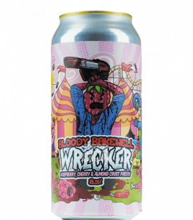 Staggeringly Good WRECKER Bloody Bakewell CANS 44cl