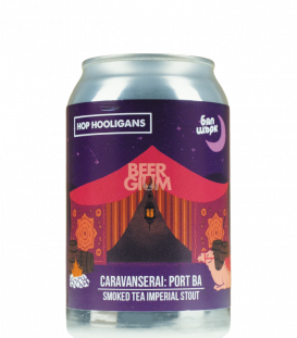 Hop Hooligans Caravanserai: Port BA CANS 33cl