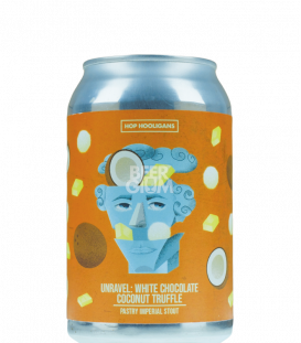 Hop Hooligans Unravel: White Chocolate Coconut Truffle CANS 33cl