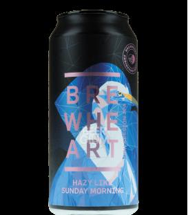 BrewHeart Hazy Like Sunday Morning CANS 44cl