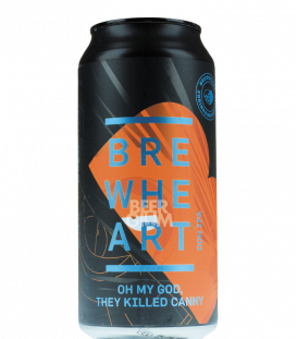 BrewHeart Oh My God, they Killed Canny CANS 44cl