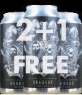 x 3 Beer Zombies / Westum Hjemmebryggeri Draugar CANS 47cl (2 + 1 FREE)