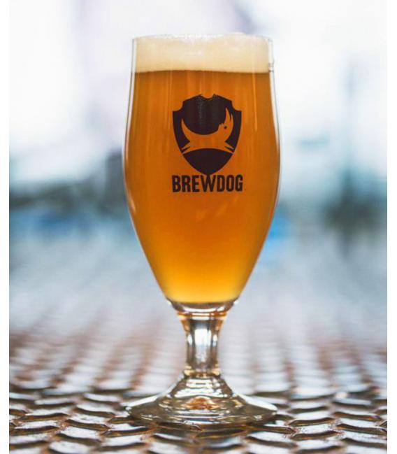 BrewDog Stemmed 1/2 Pint Glass