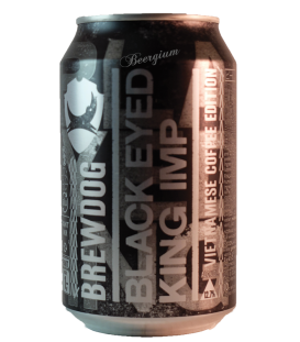 BrewDog Black Eyed King Imp Vietnamese Coffee Edition (Can) 33cl