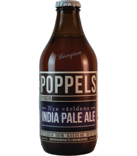 Poppels Nya Världens India Pale Ale 33cl - 07-09-2018