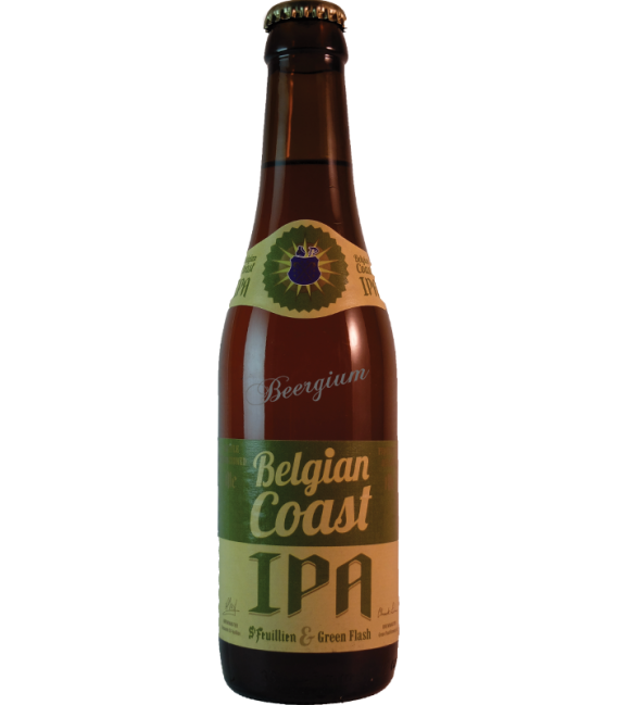 St Feuillien / Green Flash Belgian Coast IPA 33cl