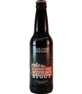 Evil Twin I Love You With My Stout 35.5cl