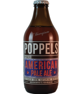 Poppels American Pale Ale 33cl BBF 06-02-2016