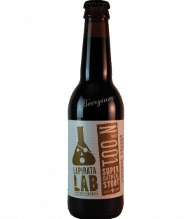 La Pirata Lab 001 Super Oatmeal Stout 33cl