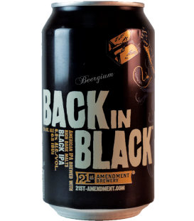 21st Amendment Back in Black CANS 35cl