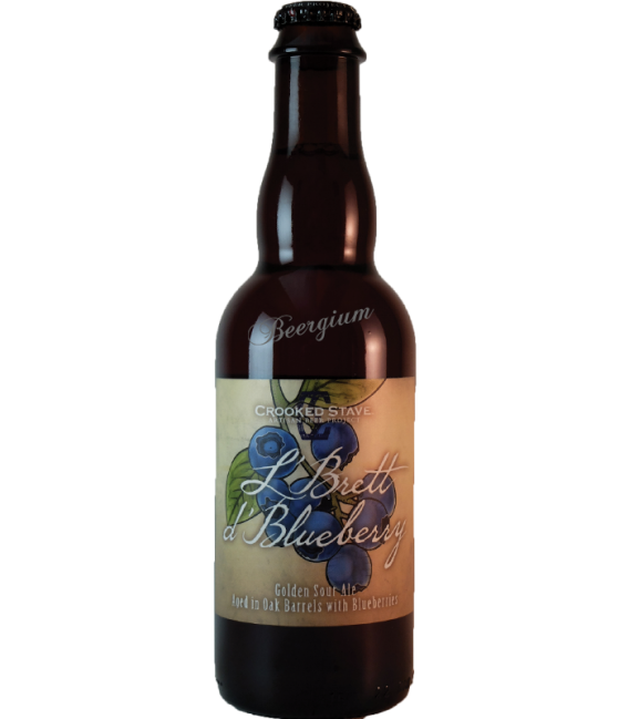 Crooked Stave L'Brett d'Blueberry 37cl