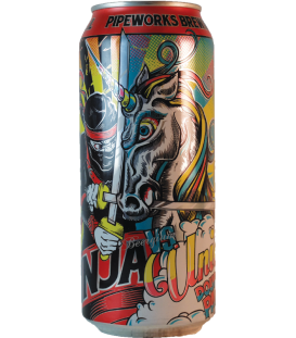 Pipeworks Ninja vs Unicorn Double IPA CANS 50cl
