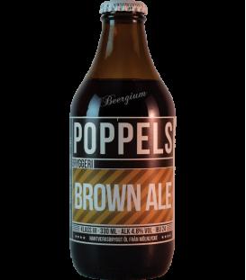 Poppels Brown Ale 33cl