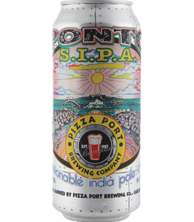 Pizza Port Ponto Sessionable India Pale Ale CANS 47cl