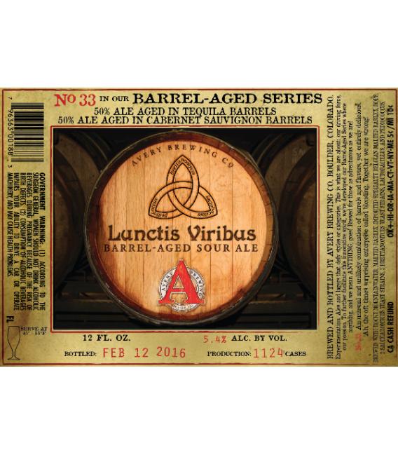 Avery Barrel-Aged Series 33 - Lunctis Viribus 35cl