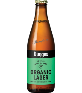 Dugges Organic Lager 33cl BBF 20-03-2016