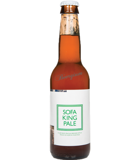 To L Sofa King Pale 33cl Beergium
