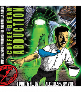 Pipeworks Coffee Break Abduction Imperial Stout 65cl