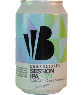 Beerbliotek Session IPA Citra Motueka 3.5% CANS 33cl