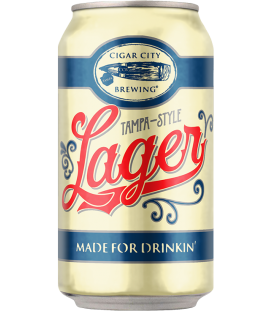 Cigar City Tampa-Style Lager CANS 35cl