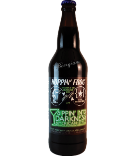 Hoppin' Frog / Lervig Frog Sippin' Into Darkness 65cl