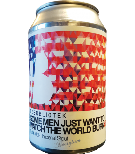 Beerbliotek Some Men Just Want to Watch the World Burn CANS 33cl