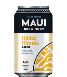 Maui Brewing Bikini Blonde Lager CANS 35cl