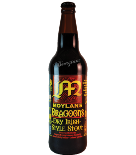 Moylans Dragoons Dry Irish Stout 65cl