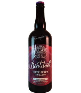 Council Béatitude: Three Berry Tart Saison 75cl