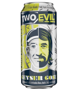 Two Roads / Evil Twin Geyser Gose CANS 47cl