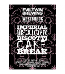 Evil Twin / Westbrook Imperial Mexican Biscotti Cake Break 65cl
