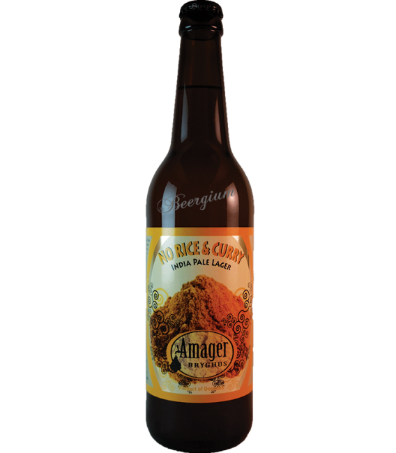 Amager No Rice & Curry 50cl
