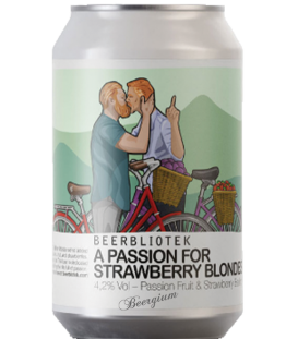 Beerbliotek A Passion For Strawberry Blondes CANS 33cl